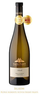 Cape Point Vineyards Isliedh double gold nwc
