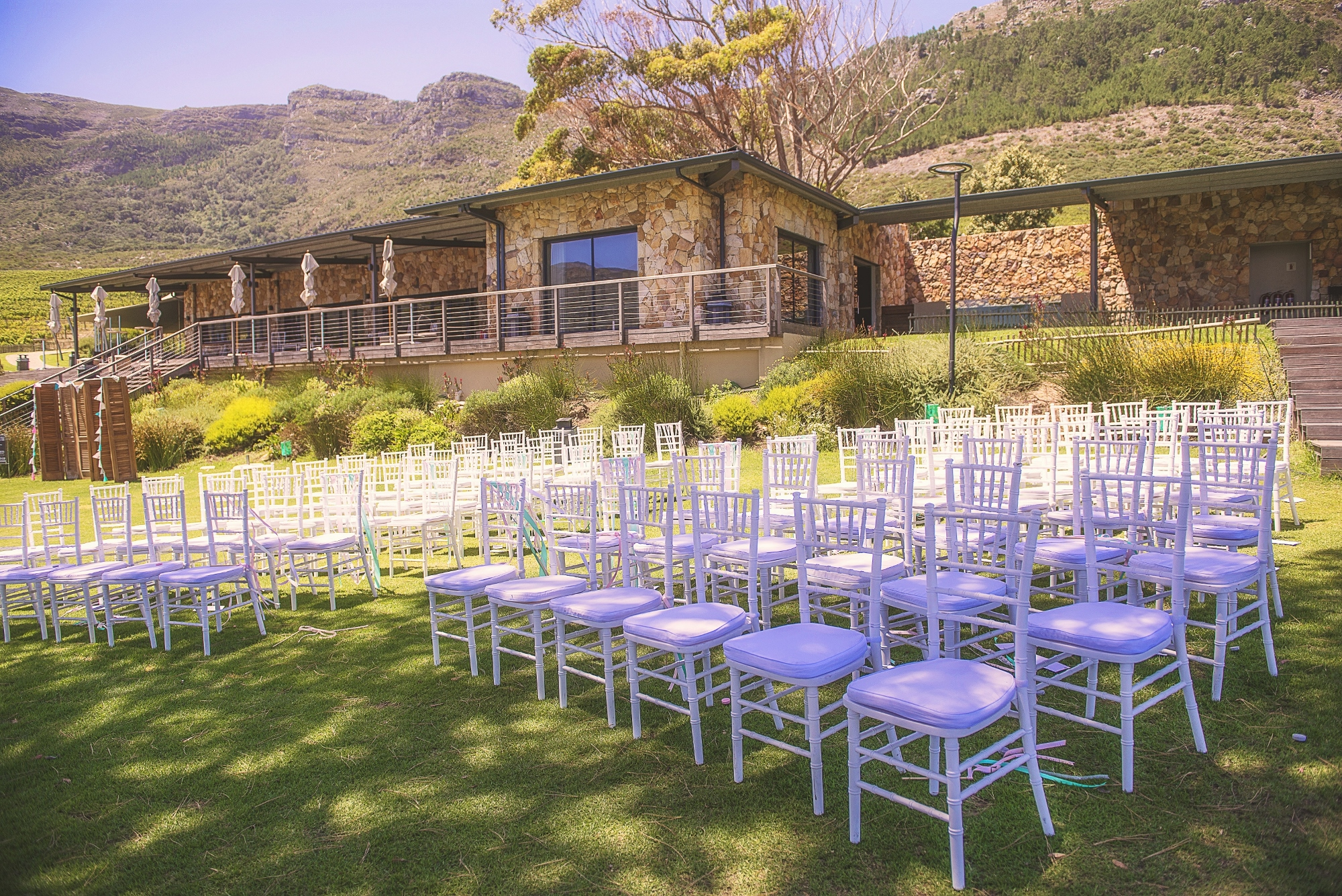 Cape Point Vineyards Offers A Vineyard Wedding Venue With Sea And Mountain Views In Noordhoek 33 Km S From Town