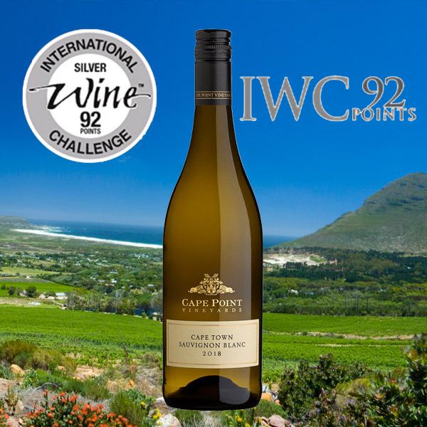 Cape Point Vineyards Sauvignon Blanc : 92 Points International Wine Challenge